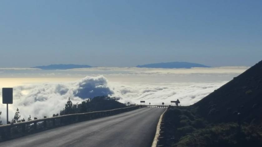 Tenerife_ sea of clouds